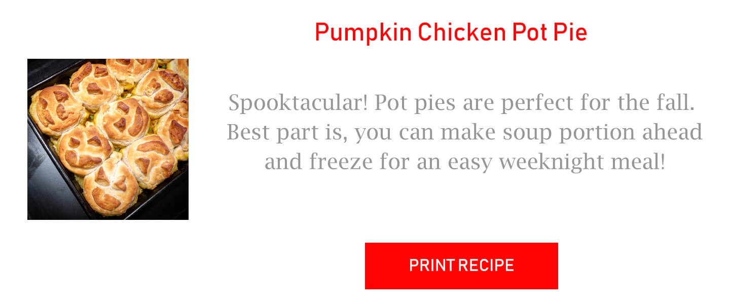 Pumpkin Chicken Pot Pie