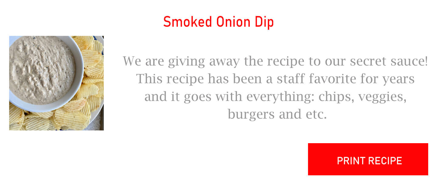 Smoked Onion Dip