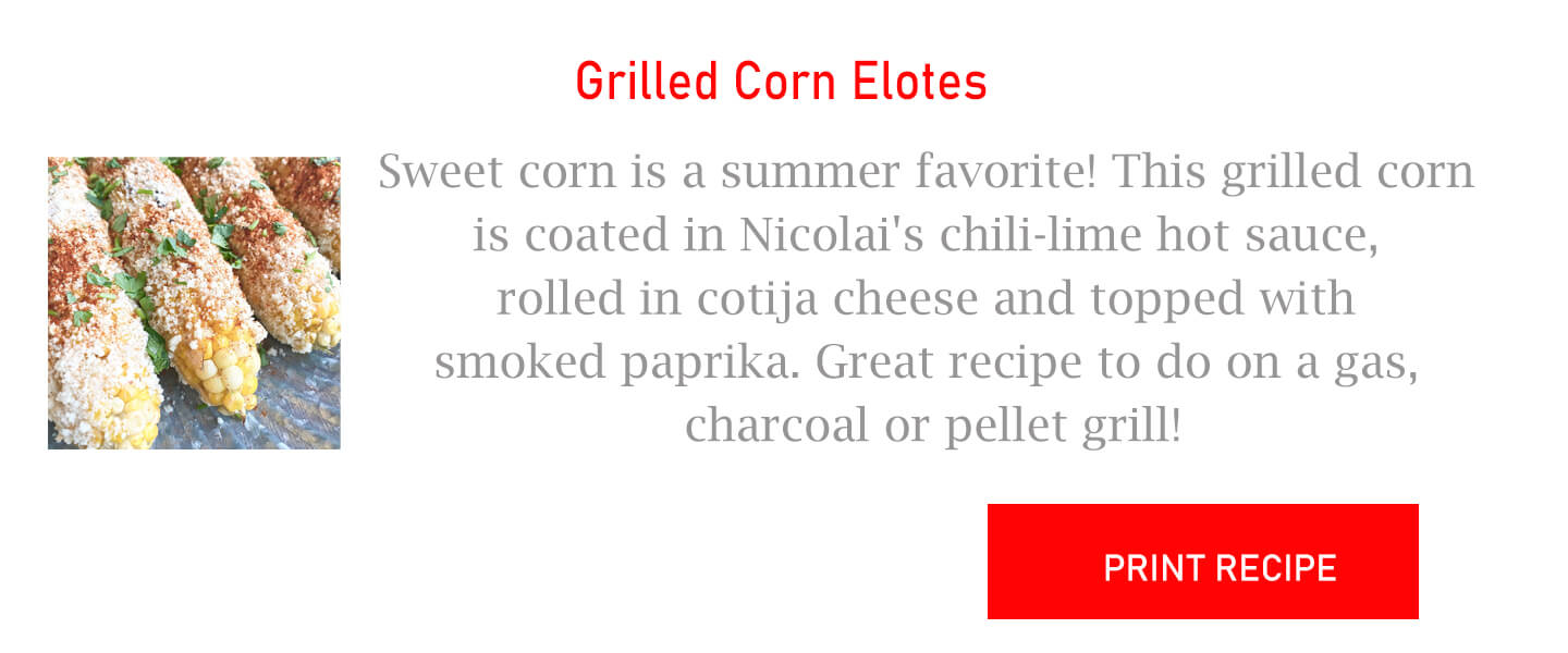 Grilled Corn Elotes