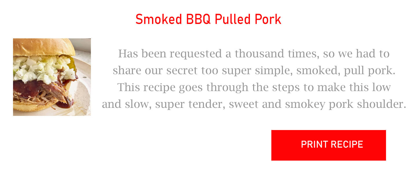 Smoked BBQ Pulled Pork